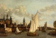 Capriccio View of Haarlem Jacobus Vrel