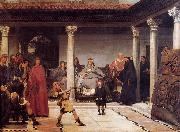 The Education of the Children of Clovis Sir Lawrence Alma-Tadema,OM.RA,RWS