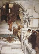 An Audience at Agrippa's (mk23) Alma-Tadema, Sir Lawrence