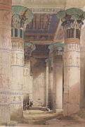 David Roberts,Portico of the Temple of Isis at Philae (mk23) Alma-Tadema, Sir Lawrence