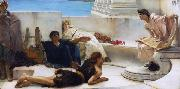 A Reading from Homer (mk23) Alma-Tadema, Sir Lawrence