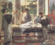 Catullus Reading his  Poems at Lesbia's House (mk23) Alma-Tadema, Sir Lawrence