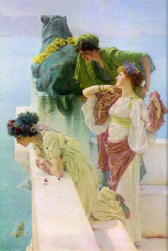 Alma Tadema Advantageous Position