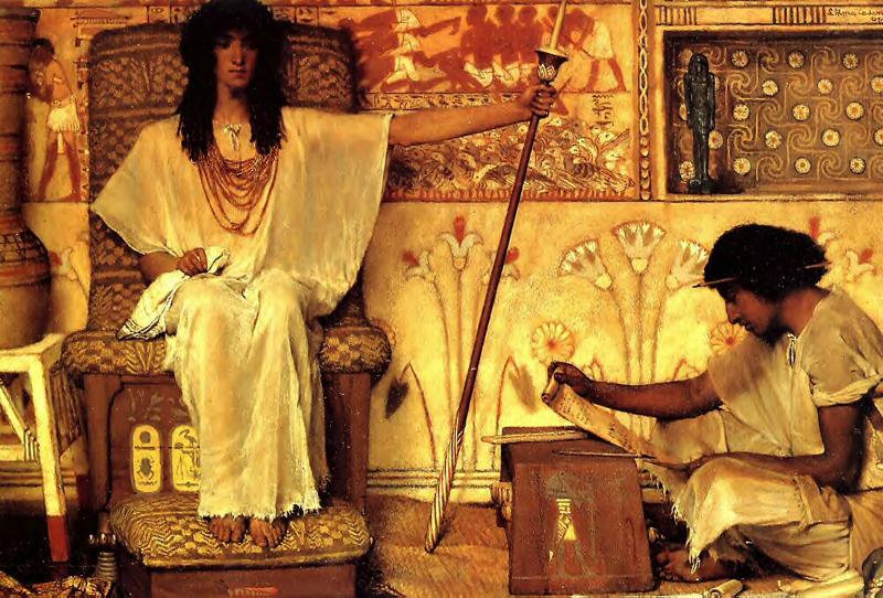 Alma-Tadema, Sir Lawrence Joseph Overseer of the Pharoahs Granaries