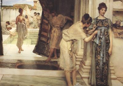 Alma-Tadema, Sir Lawrence The Frigidarium (mk24)