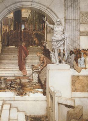 Alma-Tadema, Sir Lawrence After the Audience (mk23)