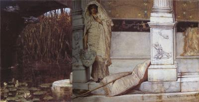 Alma-Tadema, Sir Lawrence Fishing (mk23)