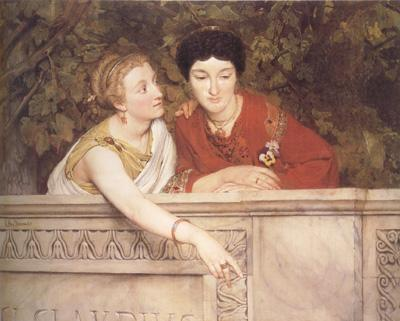 Alma-Tadema, Sir Lawrence Gallo-Roman Women (mk23)