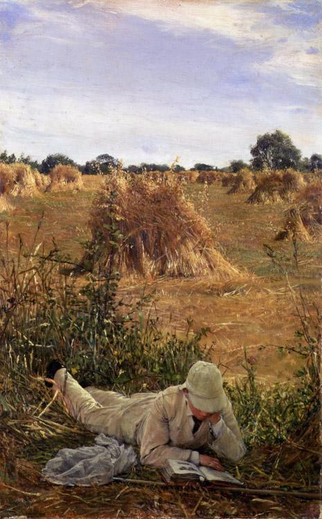 Alma-Tadema, Sir Lawrence 94 Degrees in the Shade (mk23)