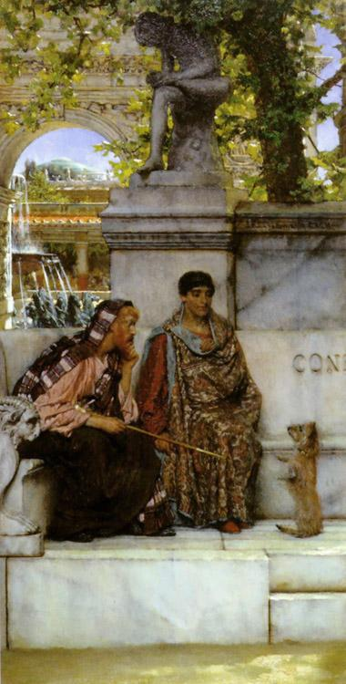 Alma-Tadema, Sir Lawrence In the Time of Constantine (mk23)