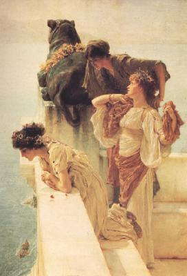 Alma-Tadema, Sir Lawrence A Colen of Vantage (nn03)
